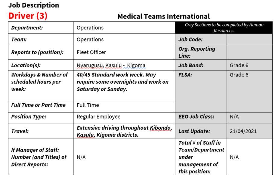 Driver Medical International